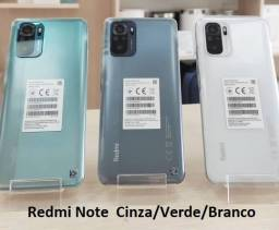 Note 10 64/4GBVerde/Cinza/Branco