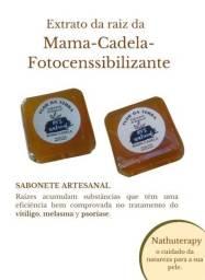 sabonete clareador de mama-cadela psoríase 120 g artesanal  glicerinado
