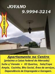 Título do anúncio: Apartamento (100m²) no Centro - próximo a Caixa Econômica Federal do Mercado.