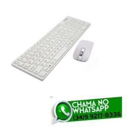 Kit Mouse + Teclado sem Fio - Consulte Cores