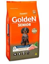 Ração Golden Fórmula Mini Bits Senior para Cães Adultos de Pequeno Porte - 10Kg