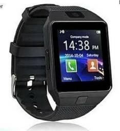 Relógio inteligente Bluetooth DZ09 pega Chip e tem câmera