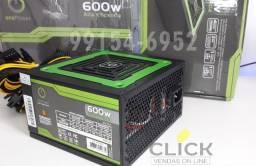 Fonte De Alimentação 600w Real One Power Atx Bivolt Manual