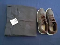 Calça masculina e sapato social