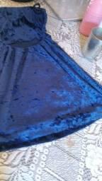 Vendo este vestido curto tamanho p