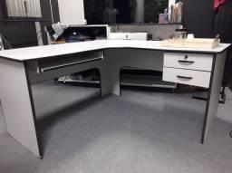 Título do anúncio: Mesa em L para escritorio