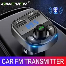 Transmissor FM Bluetooth P/ Carro Atacado e varejo Rádio