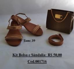 Kit Sandalia + Bolsa