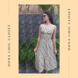 Vestido Midi, roupa feminina