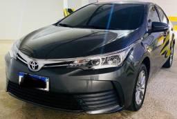 Toyota Corolla 2019/2019 1.8 Upper FLEX- Novíssimo e na garantia de fábrica