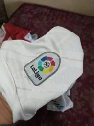 Blusa real Madrid original usada 2 vezes