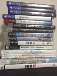 Jogos (ps3) (ps4) (Wii) original