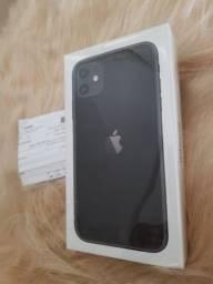 Iphone 11 64gb novo lacrado nota fiscal parcelo 10x