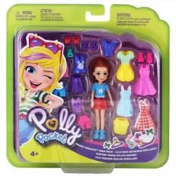 Boneca Polly Pocket Nora com Diversos Acessórios 100% Original Novo Lacrado!