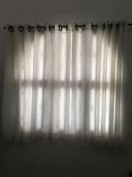 Título do anúncio: 4 cortinas com varão!