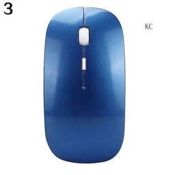 Receptor Usb Sem Fio 2.4ghz Usb Super Slim Mouse Mouse Para Notebook, Pc