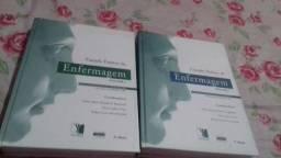 Vendo dois livros novos de enfermagem por 200