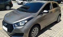 Hyundai HB20 Unique 1.0, 2018/2019, Completo, Prata.
