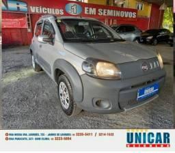 Fiat Uno Way 1.4 2013 Preta Completa