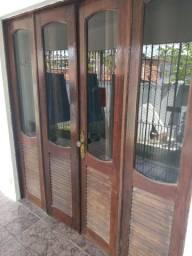 Título do anúncio: Porta madeira Massaranduba
