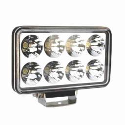 Farol de LED Auxiliar Retangular 12V~24V
