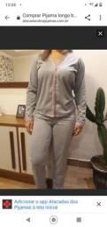 Vendo pijamas em malha femenino