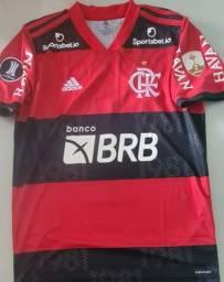Camisas de jogo Flamengo, copa Libertadores da América