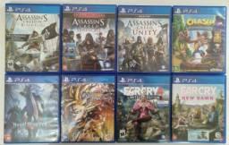 Jogos de PS4 Venda &Troca