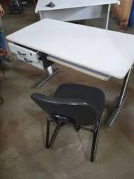 mesas  com gavetas para escritório