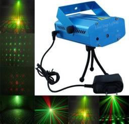 Mini Laser Stage Lighting Original Projetor Holográfico Luz De Festa, entregamos