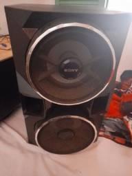 2 caixa de som da Sony potente 500.00 cada uma