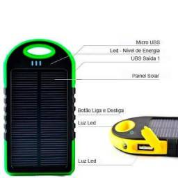 Carregador solar portatil (novo)