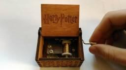 Caixinha de música Harry Potter à manivela (nova)