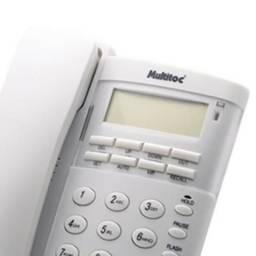Telefone com Fio Multitoc Office com identificador de chamadas