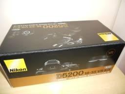 Só a caixa Nikon D5200 novinha novinha valoriza a camera na hora de comercializar