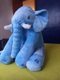 Elefante pelúcia antialérgica (travesseiro) 60cm - 80,00