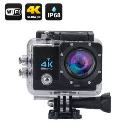Câmera Action Cam Pro Sport Ultra 4k Full Hd Prova D'agua 1080P