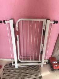 Grade para porta proteção