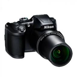 Câmera Nikon Coolpix B500 40xWiFi ? Nova Lacrada