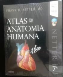Atlas de Anatomia Humana - Netter, 7ª Edição (ainda lacrado)