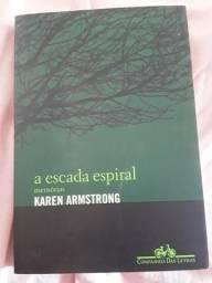 Livro: A escada espiral memória Karen Armstrong