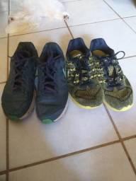 Dois tênis Nike por 100 reais