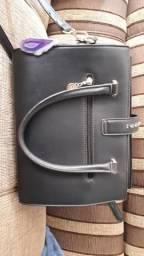 Bolsa Chenson nova de couro preta