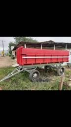 Carroça de 6 toneladas valor 11mil