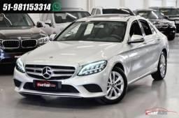 Mercedes C 200 C200 1.5 TB 16V EQ BOOST 183HP TETO UNICO DONO 10 MIL KM 4P