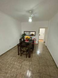 Apartamento 2 dormitórios, dependência completa e 1 vaga - Embaré, Santos