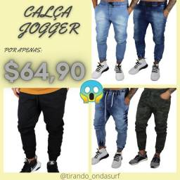 Camisetas, Shorts, Calça JOGGER
