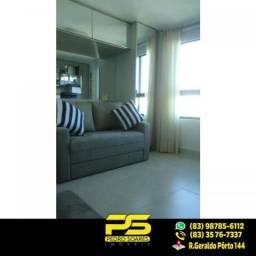 (LUXO) Cobertura com 2 qts sendo 1 suíte à venda, 130 m² por R$ 1.000.000 - Beira mar Cabo