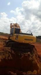 Escavadeira hidráulica kamatsu