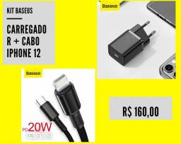 Carregador iPhone 12 Original Baseus tipo C Novo!!